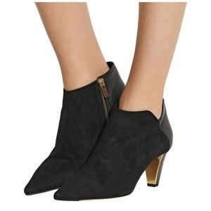 Jimmy Choo Harris suede/leather ankle boots, 36